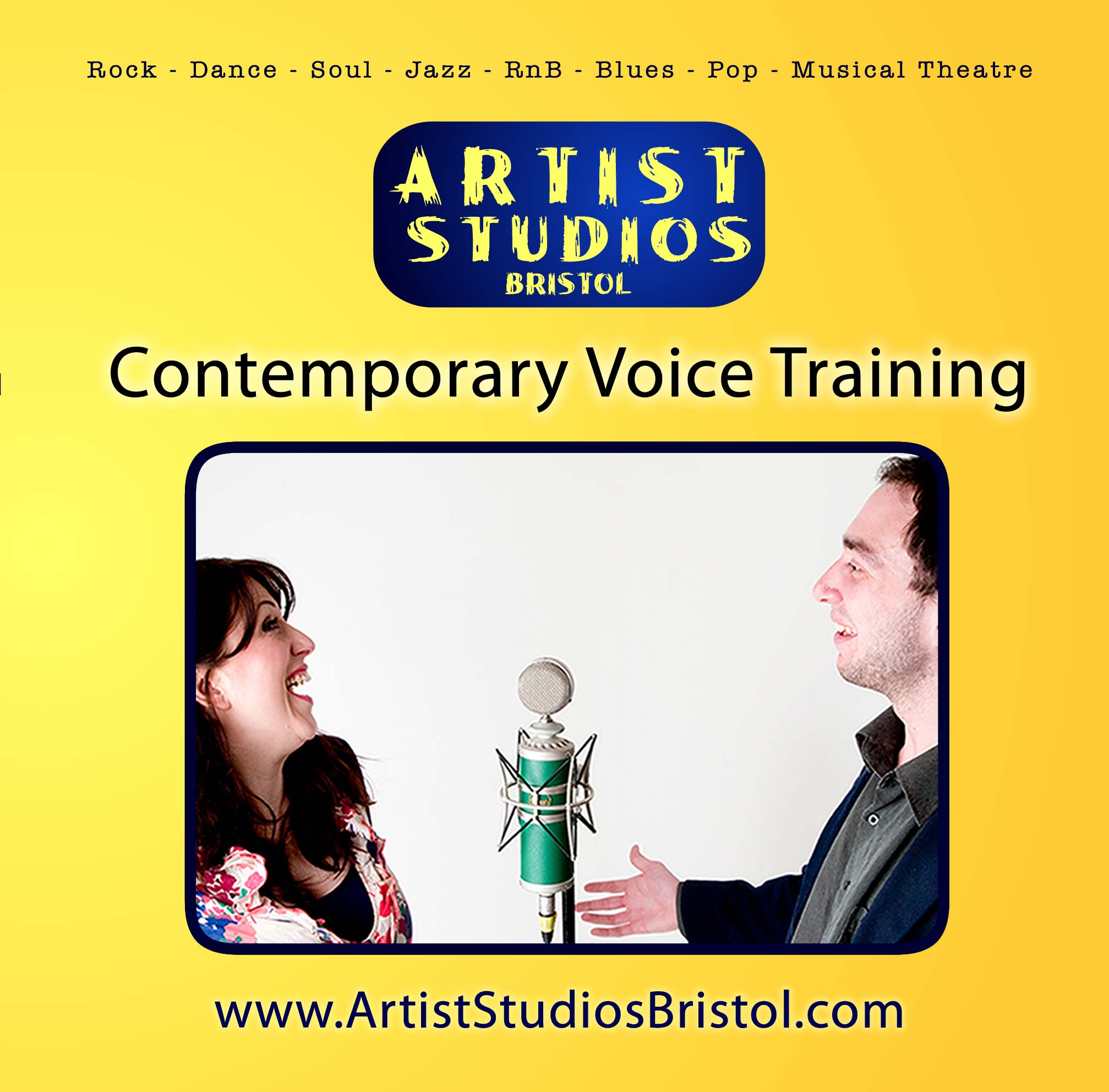 Train your voice with our Contemporary Voice Technique Training guide